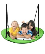 PACEARTH 40'' Saucer Tree Swing Flying 600lb Weight Capacity 2 Added Han... - $64.87