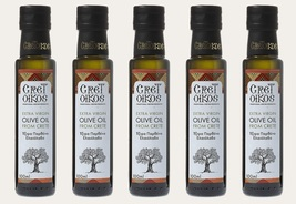 GRETOIKOS Extra virgin olive oil Koroneiki variety 5 x 100ml Cold pressed - $59.80