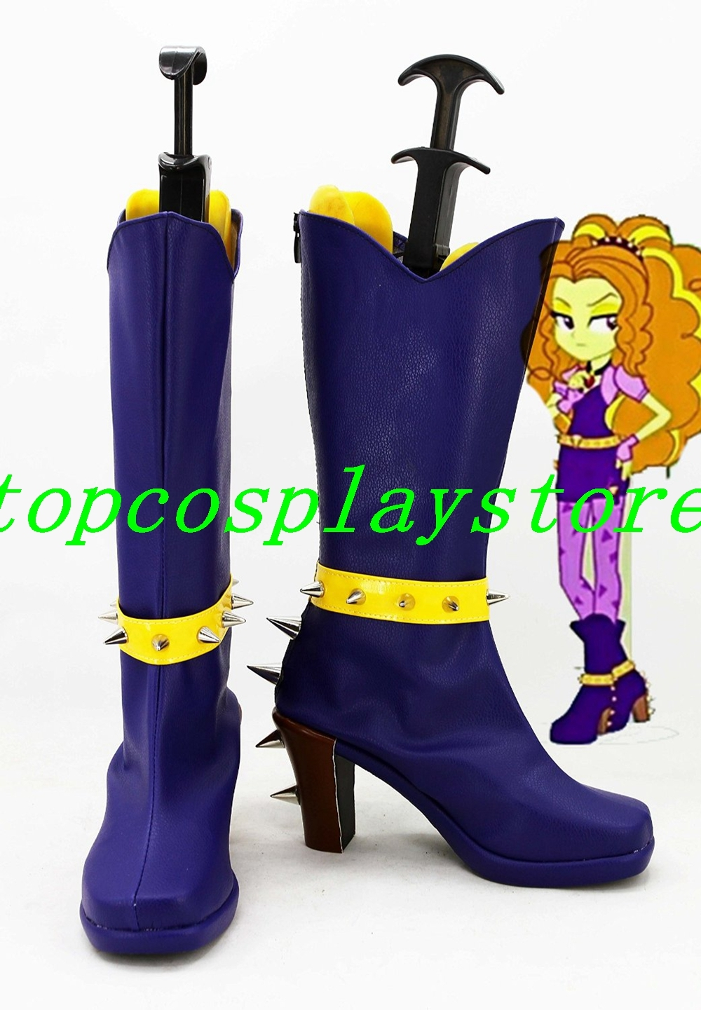 My Little Pony: Equestria Girls Rainbow Rocks Adagio Dazzle cosplay shoes boot 2 for sale  USA
