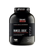 GNC AMP Mass XXX, Vanilla, 6.2 lbs, Supports Muscle Protein Synthesis - $53.11