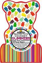Happy Yummies Worlds Best Tasting Gourmet Gummies Super Bear Assortment 14oz image 9