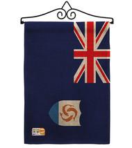 Anguilla Burlap - Impressions Decorative Metal Wall Hanger Garden Flag S... - $33.97
