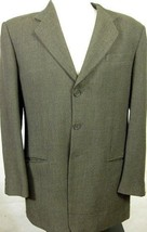 GORGEOUS Armani Collezioni Textured Weave Gray 3 Season Sport Coat Italy... - $74.99