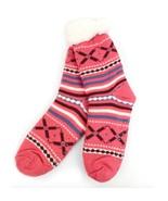 Urban-Peacock Women's Plush Knitted Fleece Sherpa Lined Slipper Socks- D... - $10.95