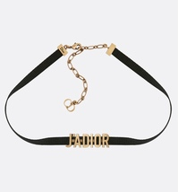 AUTH BNIB Christian Dior J'ADIOR Limited Edition Necklace Chain Choker Gold