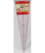 Sew Easy 22 1/2 x 4 7/8 10 Degree Patchwork Wedge Ruler NL4185 - $14.39