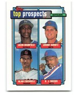 Jacob Brumfield, Royals, Topps Top Prospects 1992, #591 - $1.25