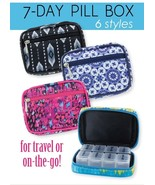 Fashion Smart 7 Day Weekly Pill Vitamin Medicine Travel Case 7 Assorted ... - $11.89