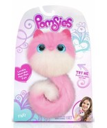 "Pomsies ""PINKY"" Plush Interactive Toy, Pink & White wearable pom - pom pets - $18.69"
