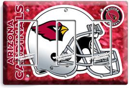 Arizona Cardinals Football Team 3 Gang Gfi Light Switch Plate Room Home Hd Decor - $14.57