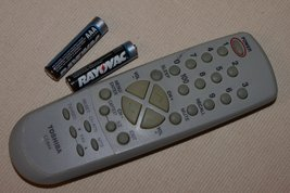 Toshiba Tv Remote Control Ct-844 27a14 27a33 27a34 27a35 27a35c Tested w... - $13.30