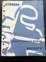 Used Yamaha Service Manual LIT-11626-20-55 WR250FW - $16.95