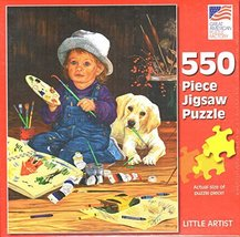 Great American Puzzle Factory Little Artist 550 Piece Puzzle - $25.98