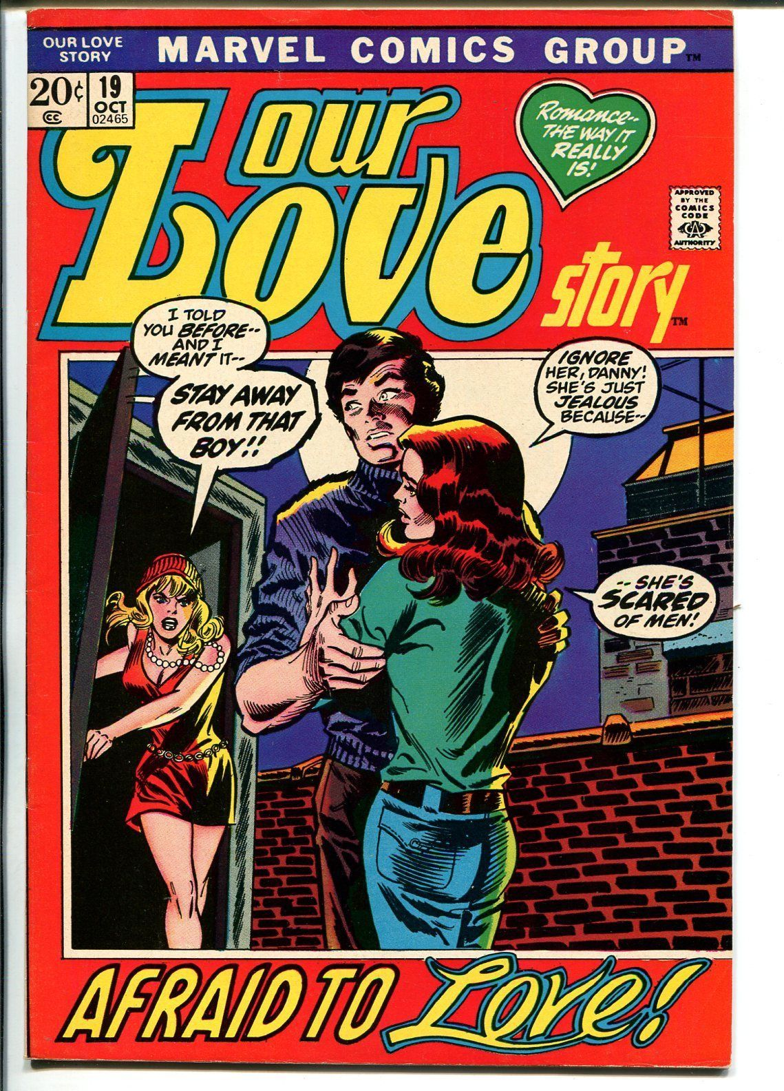 Our Love Story #19 1972-Marvel-Romita-Buscema-Verpooten-VF