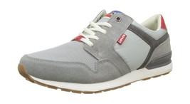 0 Runner 2 Grey UK NY 5 Levi's 6 Trainers Light Grey Mens qEwTIHZx6t