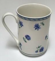 Mikasa Ultima Blue Medley HK243 Cappuccino Mug Coffee Cup - $19.79