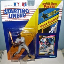 1992 Kirby PUCKETT SLU Starting Lineup Extended Edition NEW Minnesota TW... - $15.21