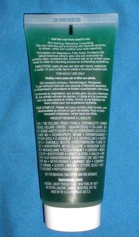 Lancome SAVON FRAICHELLE Invigorating BODY CLEANSING GEL 2 oz. 60 ml