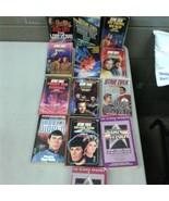 Star Trek Paperback Lot of 13 Captain Kirk Spock (lba224) - $28.04