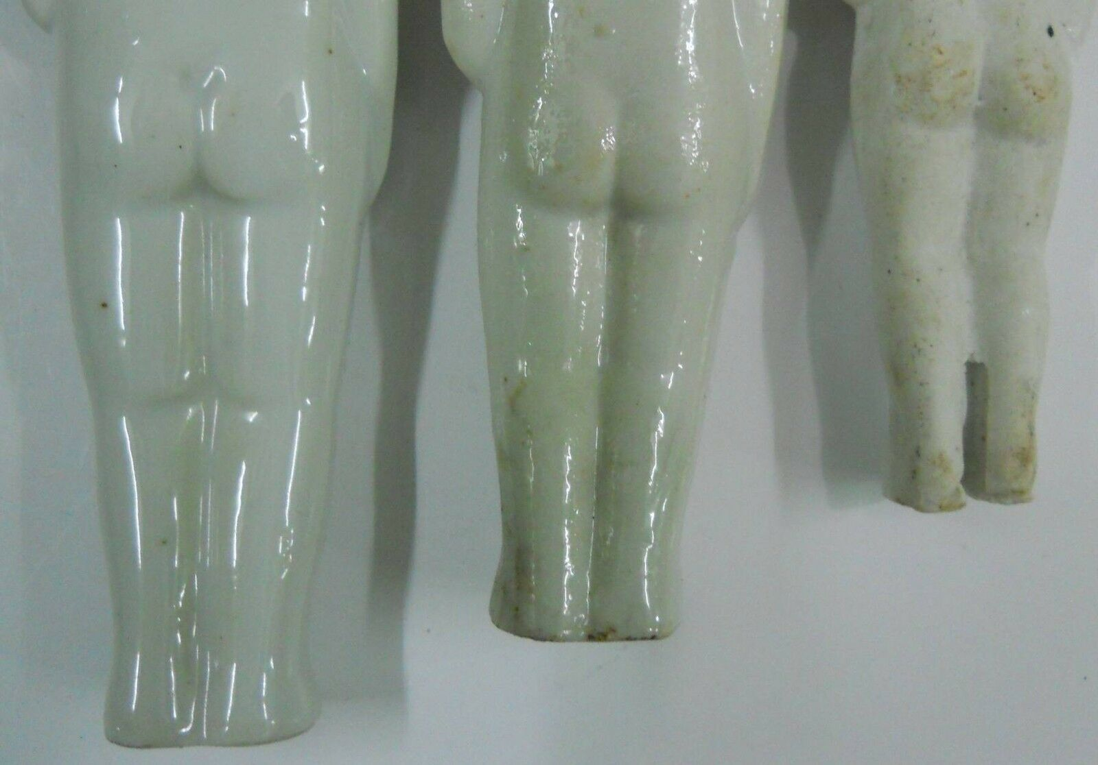 Vintage Porcelain Figurine 3 Girls over 40 years old #Po-7 image 8