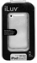 iLuv Flexi-Metallic (TPU) Case with 3D Pattern for iPod Touch 4th Genera... - $2.48