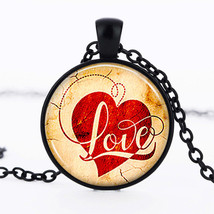 << Classy Love Cabochon Necklace >> We Combine Shipping (11726) - $3.71