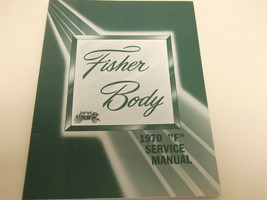 1970 CHEVY CAMARO Body Service Shop Repair Manual BOOK FACTORY 70 OEM - $36.39