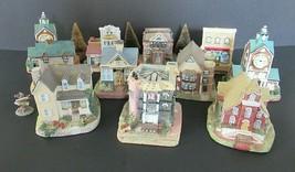 11 Lot Liberty Falls Village Houses Buildings & Businesses - Excellent C... - $39.50