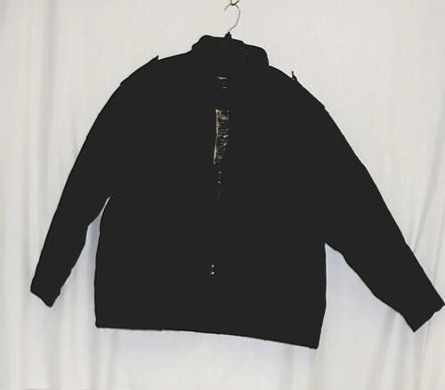 Combat Brand 8CJ01 Black ZIppered 3XL Cotton Polyester Coat