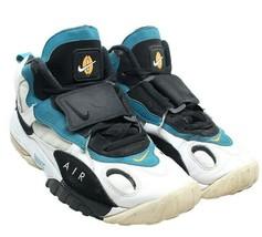 Nike Air Max Speed Turf Dan Marino Miami Dolphins White Black Teal 11 52... - $67.27