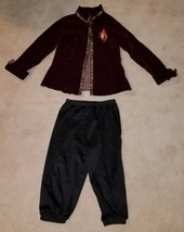 Captain Hook Disney Store Costume Size 4/6 Jacket Pants Only AS IS - $19.75