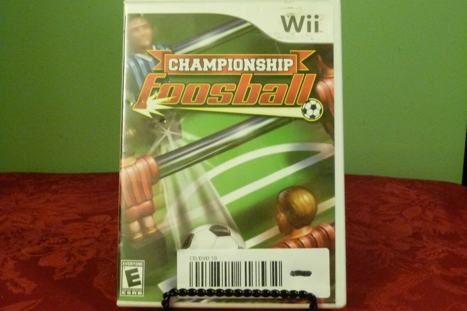 Primary image for Championship Foosball (Nintendo Wii, 2008) Good Condition