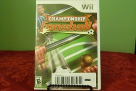 Championship Foosball (Nintendo Wii, 2008) Good Condition - $7.91