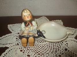 Goebel HAPPY PASTIME ASHTRAY Hummel Figurine #62 TMK-3  - West Germany - $29.70