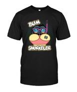 FUNNY BUM SNORKELER  BUTT SNORKELING  SNORKEL SQUAD SHIRT - $17.99+