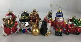 6 Blown Glass Christmas Ornament - $9.50