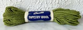 Vintage Bucilla Tapestry 100% Pure Virgin Wool Yarn - 1 Skein Fern Green #11 - $3.33