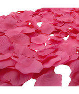 Silk Rose Flower Petals Wedding Decoration Table Confetti Bridal Flowers - $3.98+