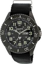 Dakota Watch Company Military Dial ION Watch Black NEW - $39.95