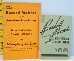 1945 & 1953 Baseball Record Makers of American & Southern Association - $19.75