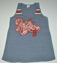 Boston Red Sox 5th & Ocean Women's Gray Tri-Blend Racerback Tank Top Siz... - $19.68
