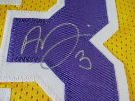 ANTHONY DAVIS / AUTOGRAPHED LOS ANGELES LAKERS CUSTOM BASKETBALL JERSEY / COA image 4