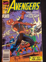 Marvel Comics AVENGERS Vol. 1 #317 Guest Starring The Amazing Spider Man - $2.96