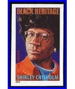 USA 2014 Shirley Chisholm NO CUTS /imperforated MNH BLACK HERITAGE - $2.57