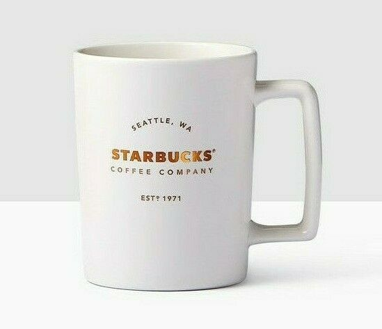 Primary image for Starbucks Spring 2017 Matte White Handle Mug Just Released 16oz New Fast Ship!!