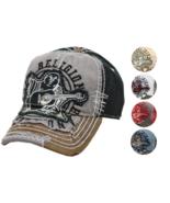True Religion Men's Premium Vintage Distressed Buddha Trucker Hat Cap TR... - $44.50+