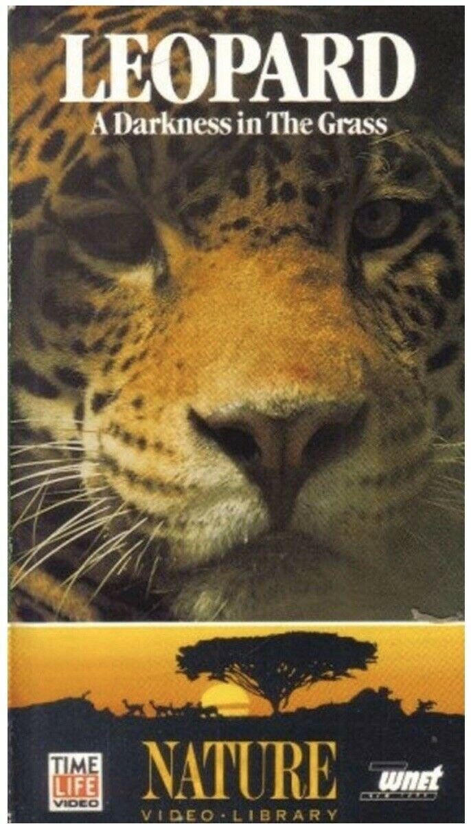 Primary image for NEW Time Life Video - Leopard: A Darkness In The Grass (VHS 1988) RARE