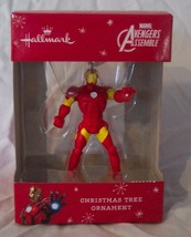 "HALLMARK Marvel Comics Avengers IRON MAN 3"" HOLIDAY CHRISTMAS TREE ORNAM... - $14.85"