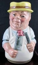 "Royal Doulton Toby Jug ""Mr. Brisket The Butcher"" - D6743 - $39.89"