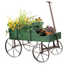 Amish Wagon Decorative Indoor / Outdoor Garden Backyard Planter - €43,34 EUR